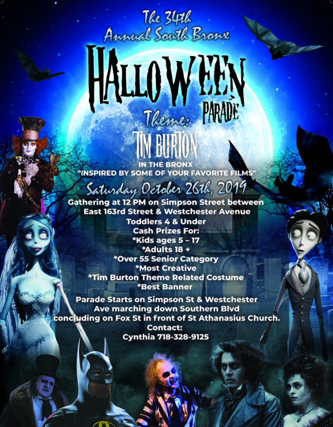 34th Annual Bronx Halloween Parade