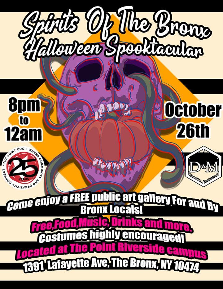 Spirits of The Bronx Halloween Spooktacular